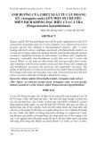 """BÁO CÁO """"  ẢNH HƯỞNG CỦA CHIẾT XUẤT TỪ CÂY HOÀNG KỲ (Astragalus radix) LÊN MỘT SỐ CHỈ TIÊU MIỄN DỊCH KHÔNG ĐẶC HIỆU CỦA CÁ TRA (Pangasianodon hypophthalmus) """""""