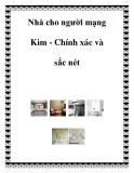 Nhà cho người mạng Kim - Chính xác và sắc nét