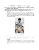 5 bí kíp để trở thành cao thủ bóng rổ