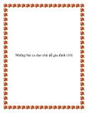 14 bài ca dao chủ đề gia đình yên ấm