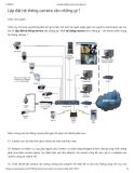 Lắp đặt hệ thống camera cần những gì ?