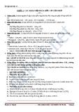 Chuyên đề ôn thi tốt nghiệp môn hóa