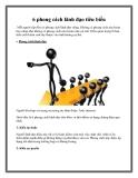 6 phong cách lãnh đạo tiêu biểu