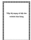 Tiếp thị mạng xã hội cho website bán hàng
