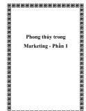 Phong thủy trong Marketing - Phần 1