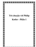 Trò chuyện với Philip Kotler - Phần 1