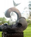 Điêu khắc và không gian văn hóa du lịch