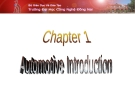 Chapter 1 automobile introduction