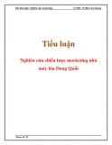 Tiểu luận: Nghiên cứu chiến lược marketing nhà máy bia Dung Quất
