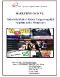 Đề tài Marketing dịch vụ: Phân tích hành vi khách hàng trong dịch vụ phim ảnh (Megastar)