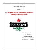 Tiểu luận: Bia Heineken và việc áp dụng thành công các chiến lược Marketing tại thị trường Việt Nam