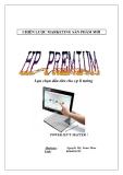 Tiểu luận:Chiến lược marketing sản phẩm HP Premium