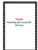 Tiểu luận:  Marketing dịch vụ tại KFC Việt Nam