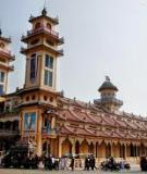 Quy hoạch chung xây dựng khu du lịch trung ương cục Việt Nam tỉnh Tây Ninh, đến năm 2025