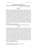 """BÁO CÁO """" ẢNH HƯỞNG CỦA KÍCH DỤC TỐ ĐẾN SỰ RỤNG TRỨNG CÁ CHẠCH SÔNG (Macrognathus siamen sis) """""""