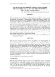 """BÁO CÁO """" ỨNG DỤNG PHƯƠNG PHÁP PCR-GENOTYPI NG (ORF94) TRONG NGHIÊN CỨU VI RÚT GÂY BỆNH ĐỐM TRẮNG TRÊN TÔM SÚ (Penaeus monodon) """""""