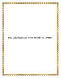 Điêu khắc tối giản (2): ANNE TRUITT và LEWITT