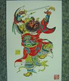 Tranh Tết khắc gỗ dân gian Trung Hoa