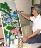 Nghề thủ công vẽ tranh trên kính, tỉnh Bình Dương – Thực trạng hiện nay