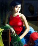 Ba họa sỹ và cuộc chơi tranh sơn dầu