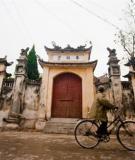 Vẻ đẹp điêu khắc trong kiến trúc đình làng việt