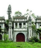 Chùa Bát Tháp - kiến trúc đẹp của thành Thăng Long