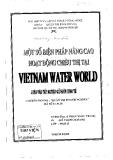Luận văn:Một số biện pháp nâng cao hoạt động chiêu thị tại Vietnam Water World
