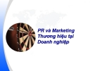 PR và Marketing Thương hiệu tại Doanh nghiệp