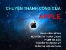 Nguyên nhân thành công Apple