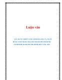 Luận văn:  XÂY DỰNG CHIẾN LƯỢC KINH DOANH CỦA NGÂN HÀNG TMCP HÀNG HẢI CHI NHÁNH HỒ CHÍ MINH (MARITIME BANK HO CHI MINH) ĐẾN NĂM 2015