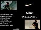 Phát triển sản phẩm con cho Nike – Nike U