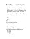Bài tập kinh tế vĩ mô 7