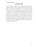 Bài tập lớn môn học Kinh tế lượng