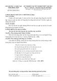 KỲ THI DIỄN TẬP TỐT NGHIỆP THPT NĂM 2013 Môn thi: Ngữ văn
