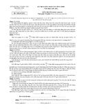 Đề thi học sinh giỏi lớp 12 THPT năm 2012 - Sở GD&ĐT Phú Yên