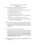 BÀI TẬP HỌC PHẦN TÂM LÝ HỌC ĐẠI CƯƠNG Bài thảo luận số 3