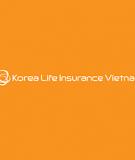 Marketing bảo hiểm nhân thọ Korea Life tại thị trường Việt Nam