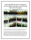 Nuôi sinh khối, dự trữ và sử dụng tảo Pavlova lutheri làm thức ăn cho ấu trùng hàu Crassostrea gigas