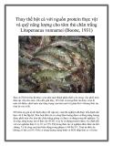 Thay thế bột cá với nguồn protein thực vật và quỹ năng lượng cho tôm thẻ chân trắng Litopenaeus vannamei (Boone, 1931)