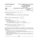 Đề thi lớp 10 năm 2013 tỉnh Quảng Bình môn toán