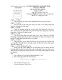 Đề thi học sinh giỏi môn GDCD lớp 12 - Sở GD&ĐT Thanh hóa