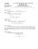 Đề thi học sinh giỏi lớp 12 môn Toán cấp tỉnh - Sở GD&ĐT  Quảng Bình