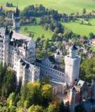 Lộng lẩy tòa lâu đài Neuschwanstein (Đức)