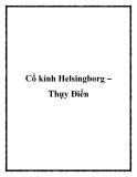 Cổ kính Helsingborg – Thụy Điển