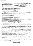 Tổng hợp đề thi thử ĐH môn Toán các khối Đề 5