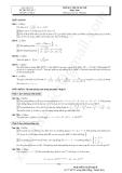 Tổng hợp đề thi thử ĐH môn Toán các khối Đề 7