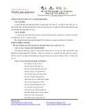 Đề thi thử Đại học lần 1 năm 2013 môn Văn khối C, D - Trường THPT Minh Khai