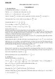 Tổng hợp kiến thức và công thức vật lý lớp 12