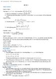 Đề thi thử đại học môn toán năm 2011- 2012 THPT Tuy Phong