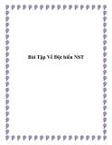 Bài Tập Về Đột biến NST